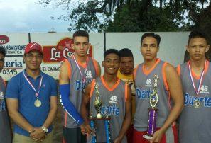 Quinteto Negro, campeón torneo baloncesto superior aniversario club Juan Pablo Duarte