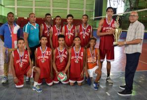 Barahona es campeón en voleibol nacional infantil