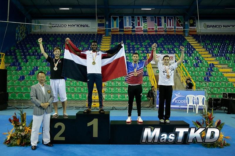 Bernardo Pie conquista oro en Campeonato Abierto de Taewkwondo