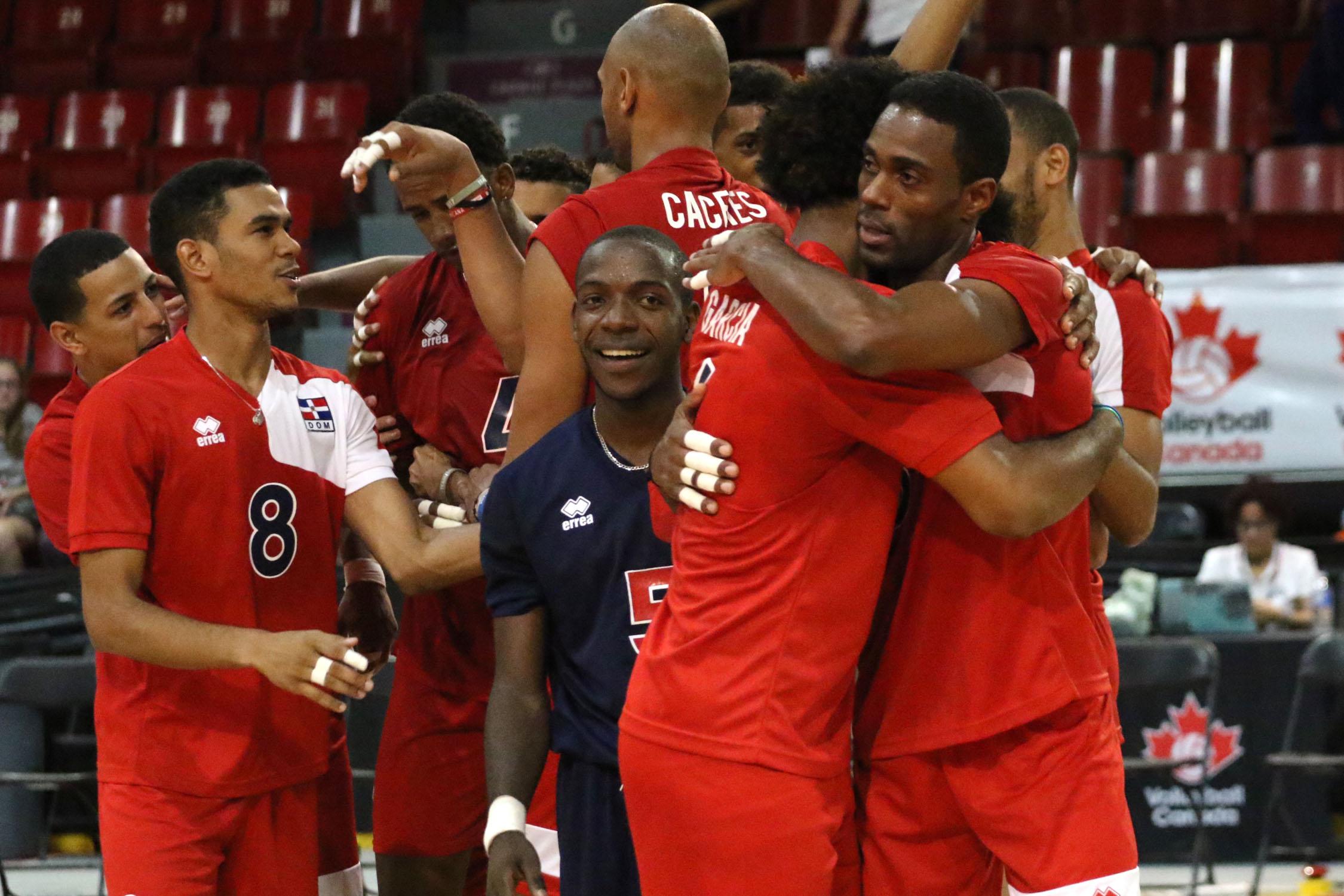 Dominicana da un contundente 3-0 a Estados Unidos