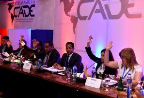 Reeligen a RD en la presidencia del CADE; Colombia, sede próxima Asamblea