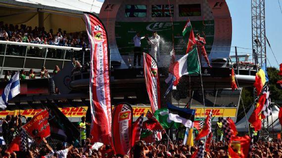 Hamilton toma el liderato del campeonato tras ganar en Monza