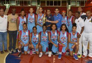 Distrito Nacional conquista nacional femenino basket sub-16