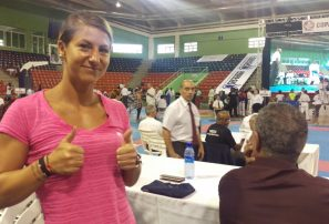 Alexandra Recchia, complacida con facilidades del Albergue Olímpico