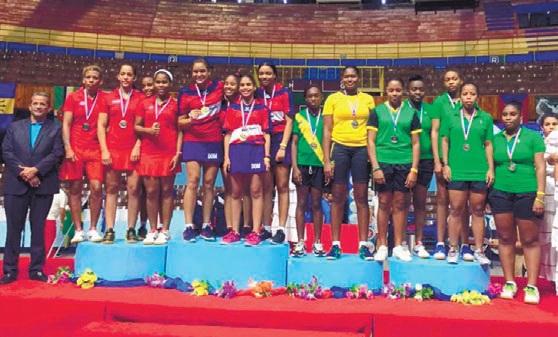 Selección femenina tenis de mesa ratifica título del Caribe