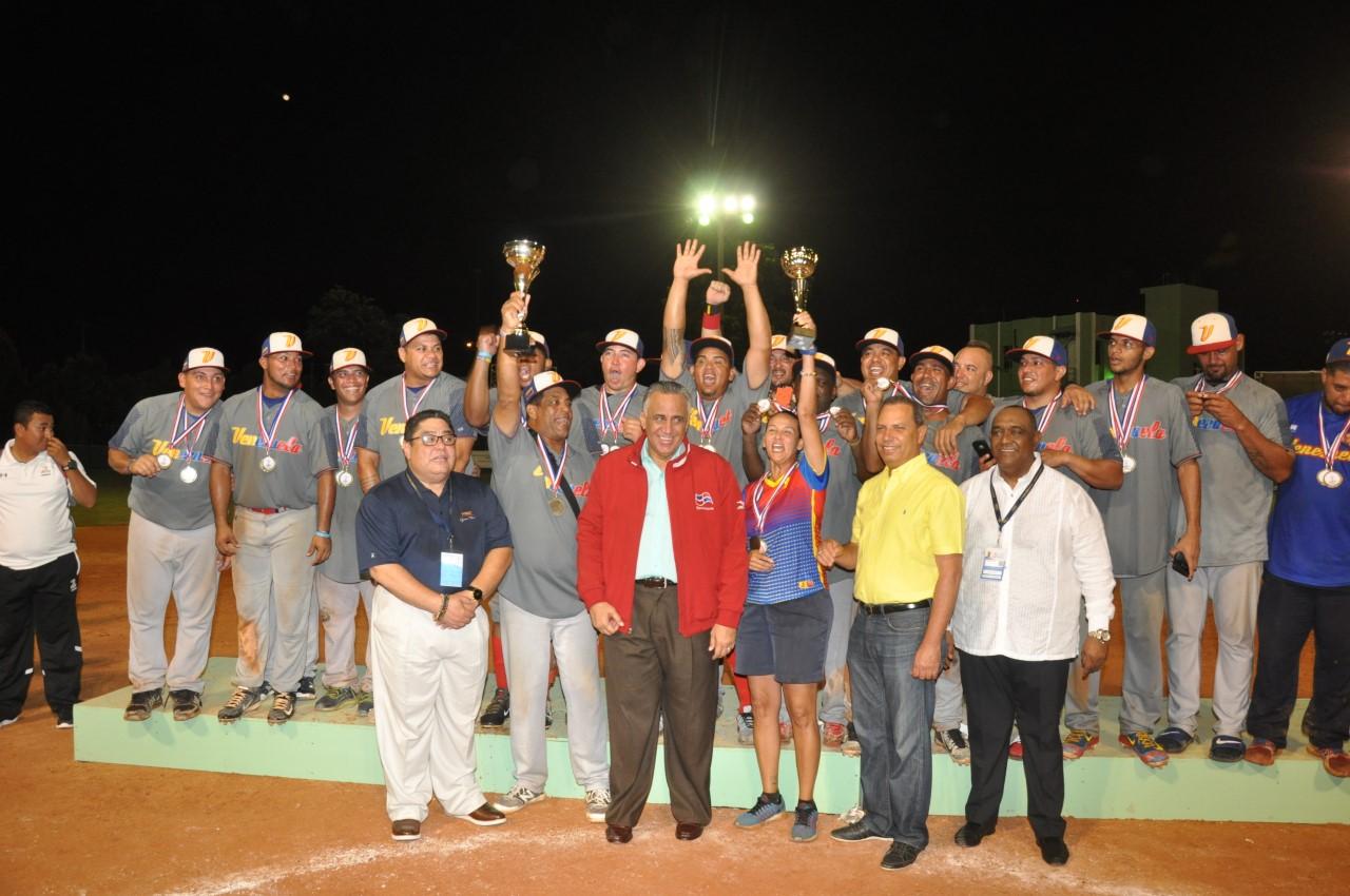 Venezuela conquista primer lugar Campeonato Panamericano de Softbol Masculino