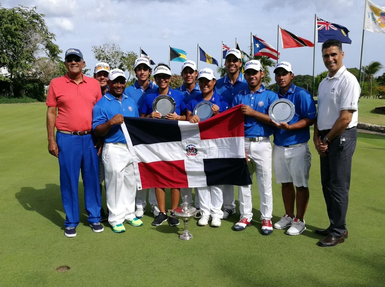 Equipo RD conquista corona Hoerman Cup en campeonatos golf del Caribe