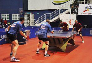 RD logra dos oros; Chile cuatro en dobles Latino Máster tenis mesa