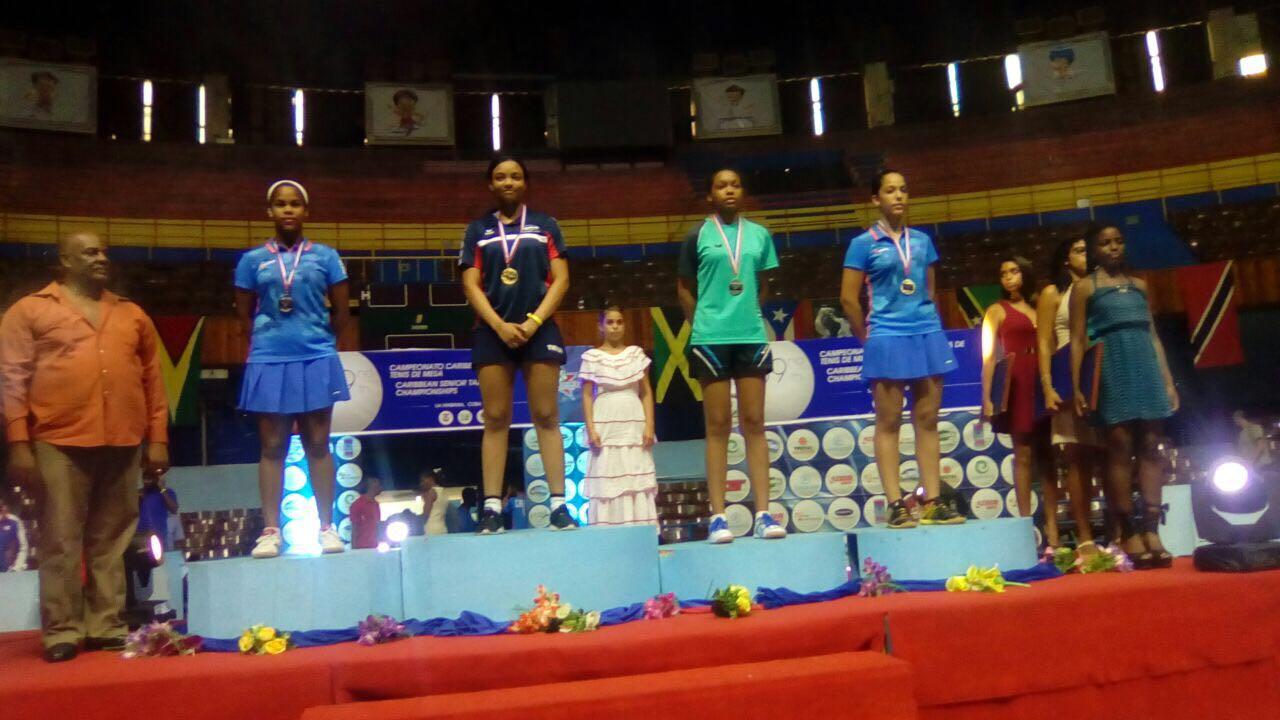 Tenis de Mesa RD gana nueve medallas en Campeonato del Caribe en Cuba
