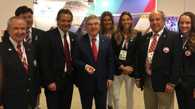 Presidente del COI: Deseo a Chile éxito como organizador de los Juegos Panamericanos 2023