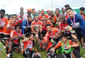 Onceno Cibao FC conquista copa de fútbol