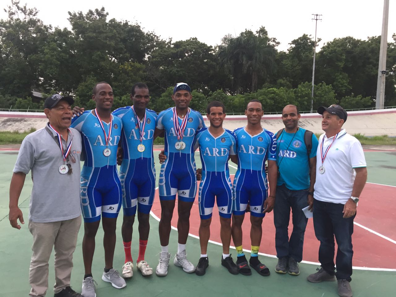 Armada Dominicana reinó en ciclismo de pista Juegos Militares