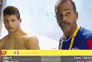 Gómez y Calderón exhiben desarrollo en natación Trinidad y Tobago