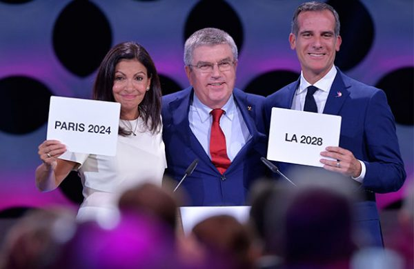 COI confirma sedes olímpicas para París 2024 y Los Ángeles 2028