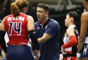 Entrenador voleibol lamenta condiciones practica seleccionado superior femenino
