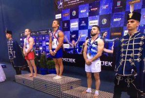 Gimnasta Audrys Nin Reyes gana oro en salto copa del mundo