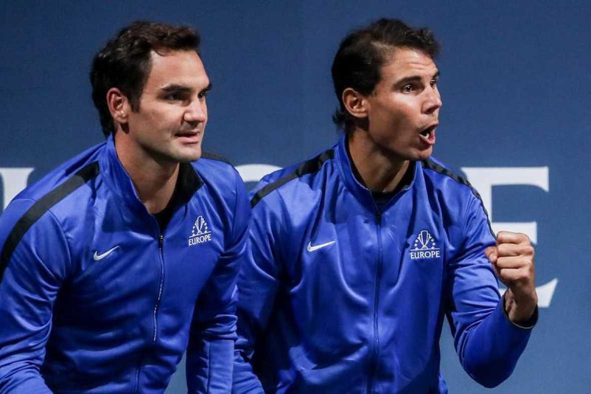Nadal y Federer jugarán juntos en dobles