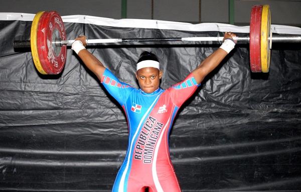 Santana competirá en la Copa del Mundo de Pesas