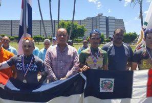 Juan José Cueto gana la presea de oro en ruta militar