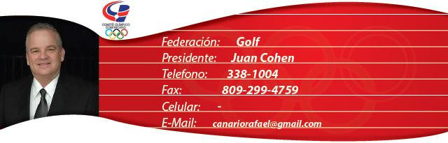 Juan Cohen - Golf