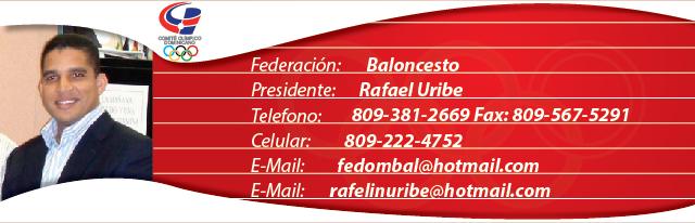 Rafael Uribe, presidente federación dominicana de balonmano