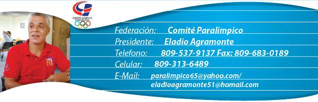 Eladio Agramonte, presidente Comité Paralimpico