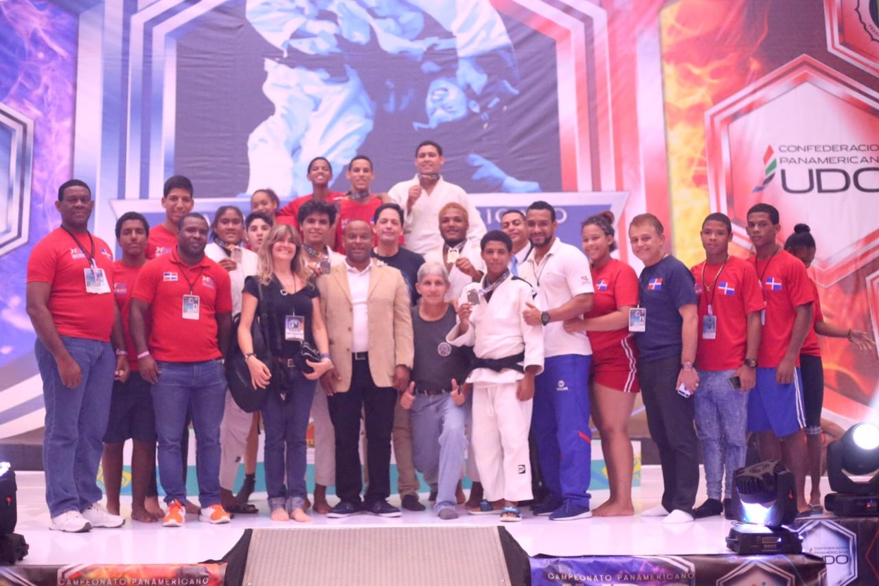 Florentino, oro en Panamericano cadete y junior de judo