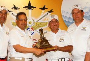 Jesús Alcántara y Antonio Félix ganan torneo de Golf Fuerza Aérea