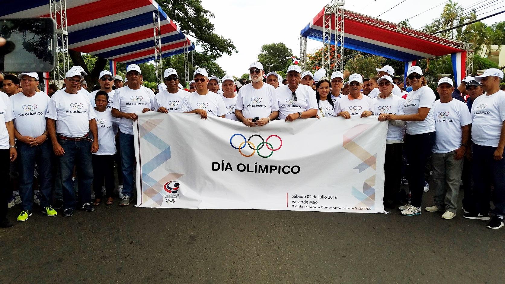 San Cristóbal recibe este sábado festejos del Día Olímpico