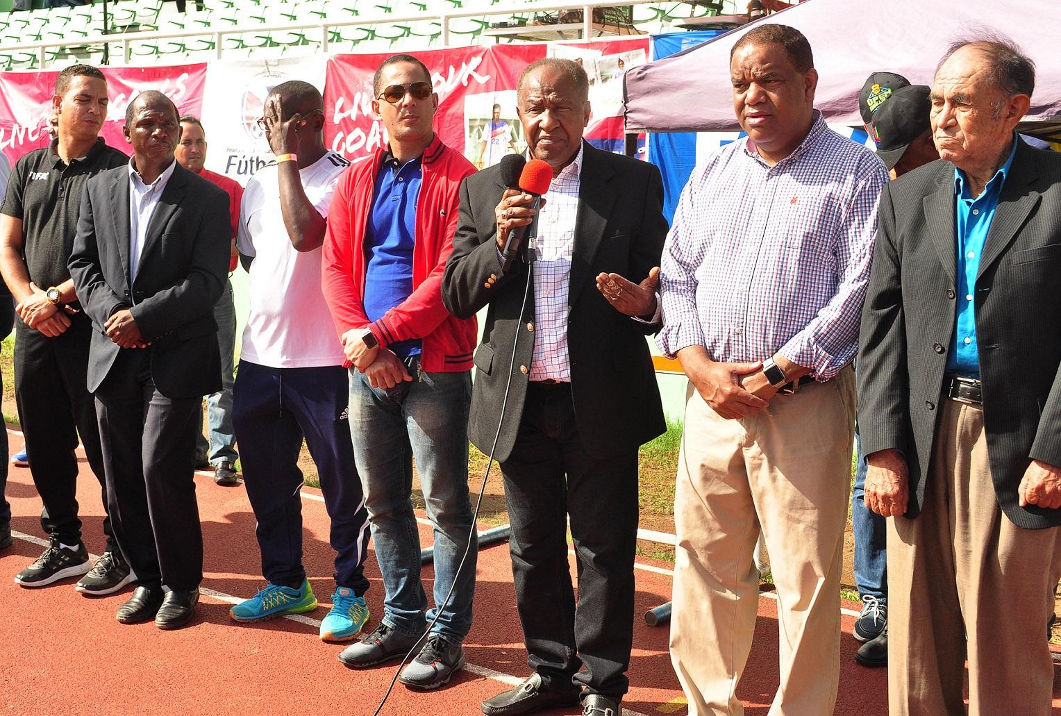Danilo Díaz y Jorge Minaya ponderan labor de Fedofutbol
