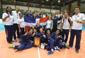 Sexteto sub-18 conquista oro campeonato Continental voleibol