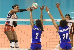 Selección femenina se impone con autoridad ante Cuba