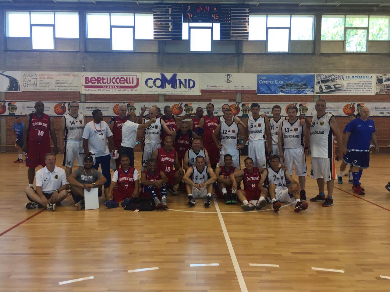 Dominicana aplasta a Alemania en el Mundial de Maxibaloncesto