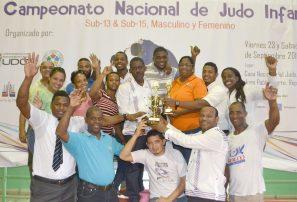 Zona Metropolitana, gran campeona nacional infantil de judo