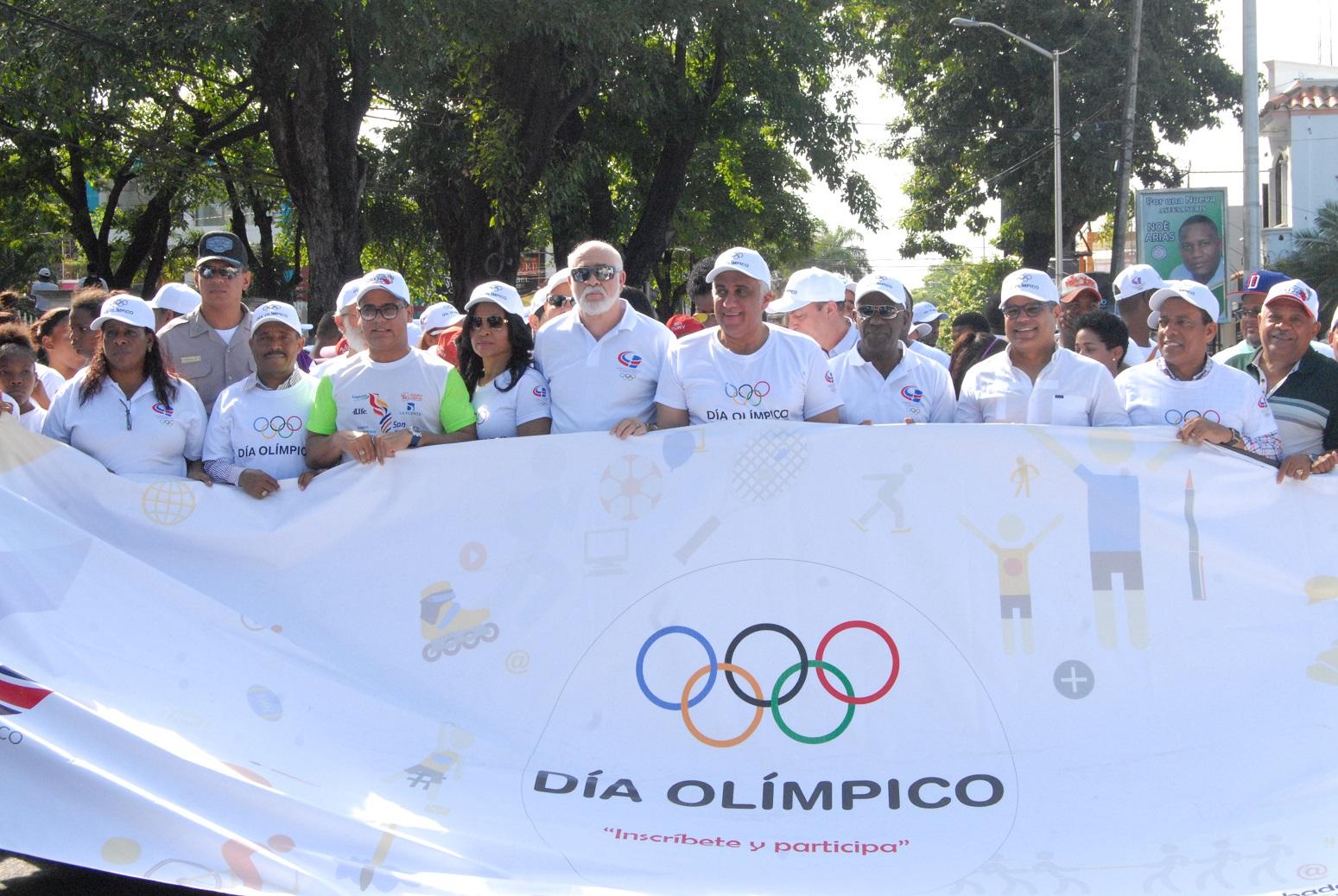 Alcalde Guillén califica Día Olímpico como un motor de orientación a la juventud