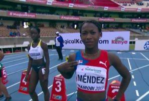 Durán, sexta en final de 100 metros del Mundial sub18