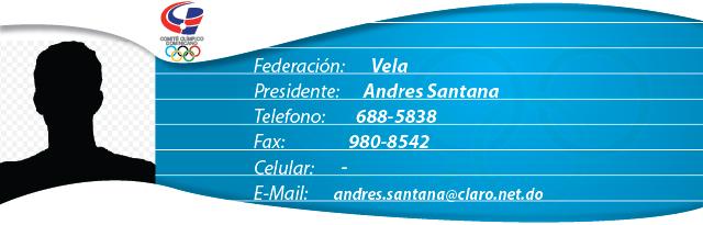 Andres Santana - Vela