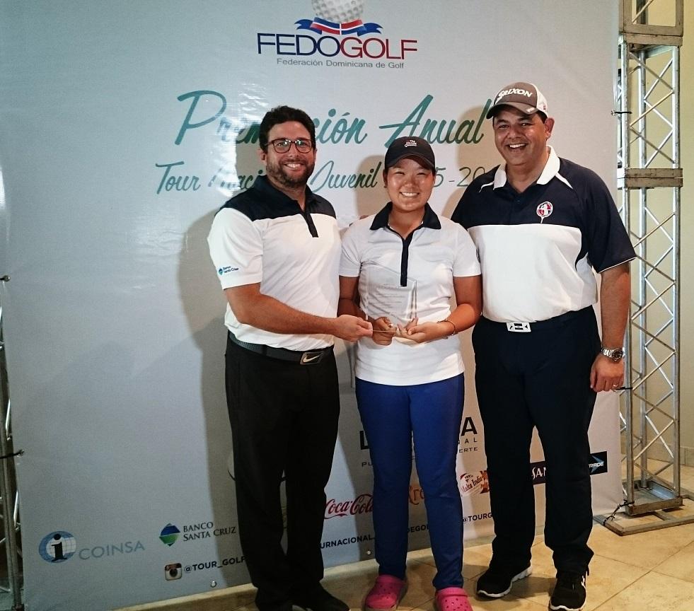 Fedogolf premia sus mejores atletas del Tour Nacional Juvenil
