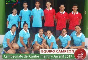 RD barre en campeonato infantil y juvenil del Caribe tenis mesa