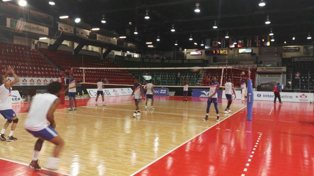 RD abre este martes ante Cuba en Copa Panam de Voleibol Masculino