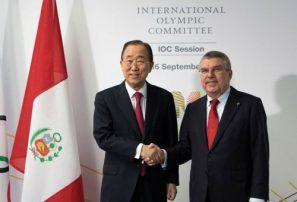 COI elige a Ban Ki-moon como presidente de Comisión Ética