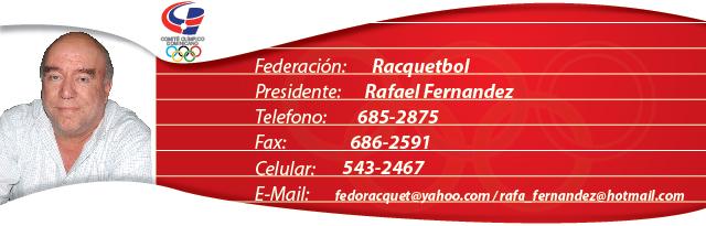 Rafael Fernandez - Racquetbol