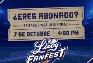 Licey hará un Fan-fest el 7 de octubre
