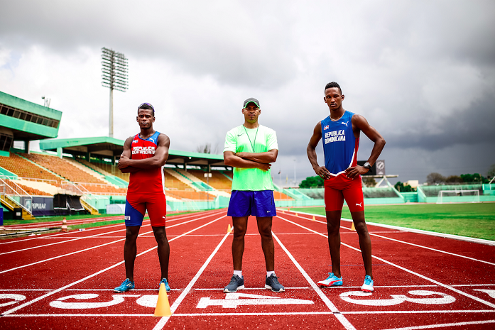 Atletas RD salen en busca de marcas a Colombia y a Filadelfia