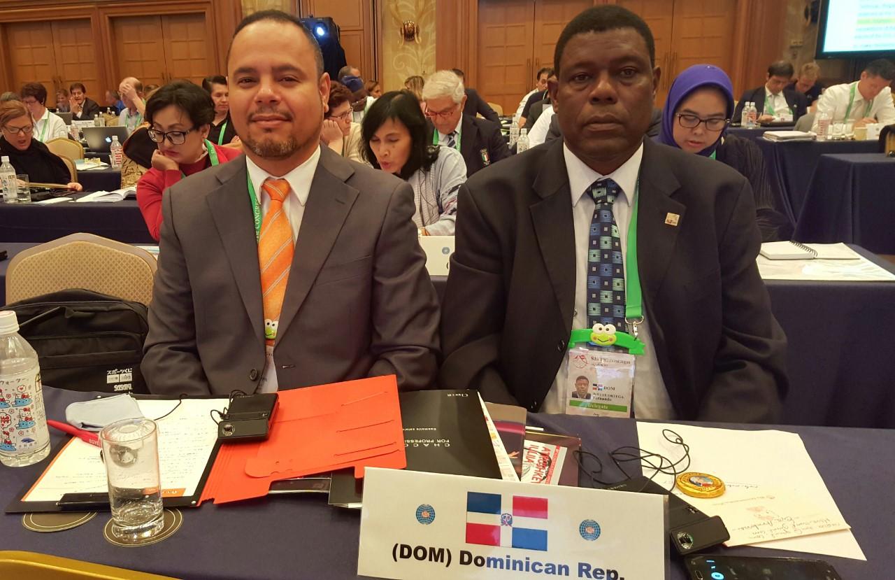 Presidente Fedogim, electo miembro del Consejo de la FIG