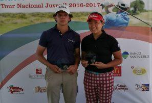 Delgado y Kim, campeones Campeonatos Nacionales Juveniles