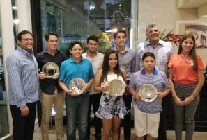 Fedogolf ofrece recepción a atletas juveniles que jugaron en nacional juvenil