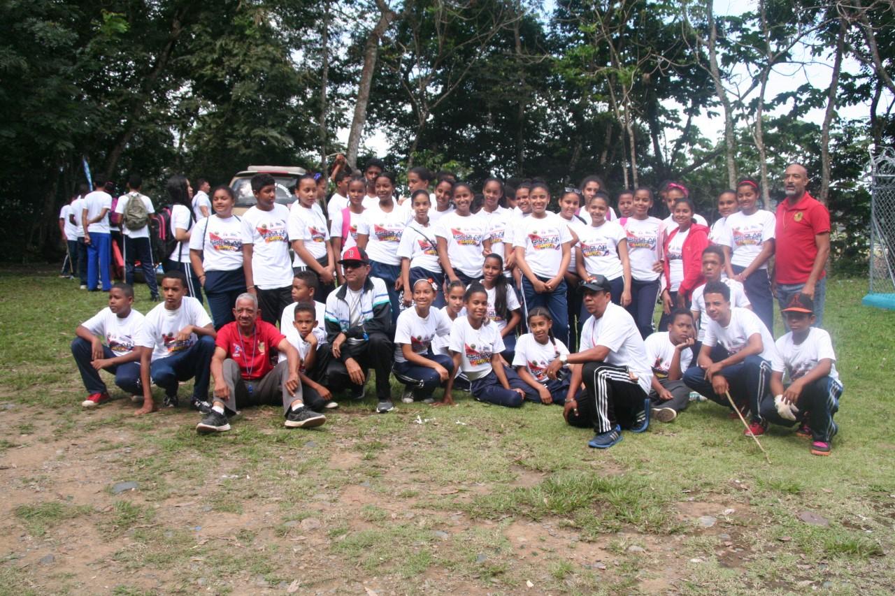 Fedoreca realiza campamento escolar en Sánchez Ramírez