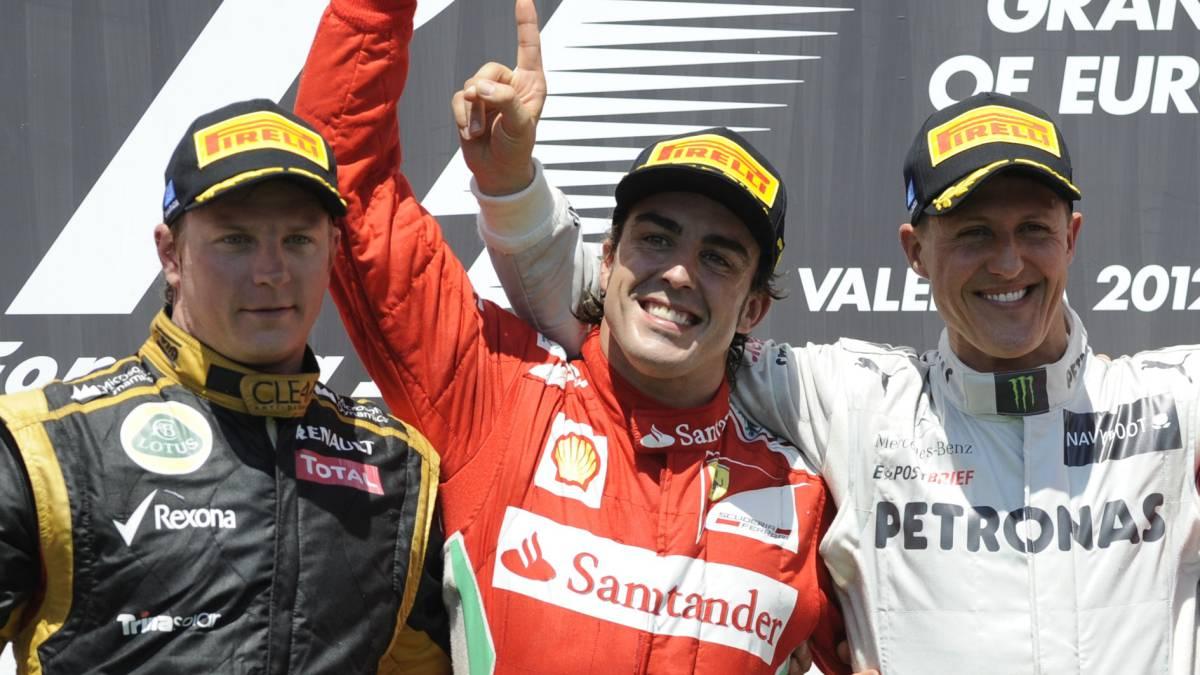 Schumacher lidera campeones Fórmula Uno que más dinero han ganado