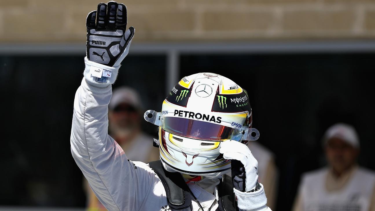 Lewis Hamilton conquista la Pole para el GP de EE.UU.
